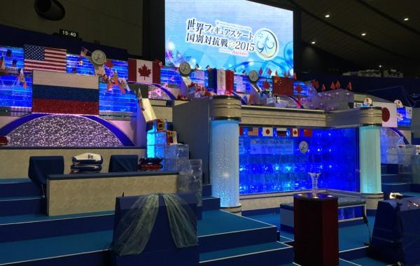 テレビ朝日「世界フィギュアスケート国別対抗戦2015」