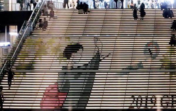 グランフロント大阪 うめきた広場 大階段 2019夏 装飾